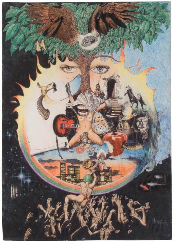 Horácio, Pain, Life and Freedom. Circa 1978
